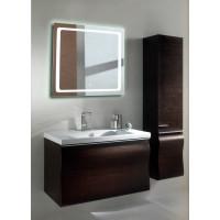 Квадратное зеркало с подсветкой в ванной Катро 65 см