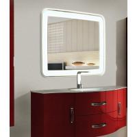 Зеркало в ванную комнату с подсветкой Мила 65 см